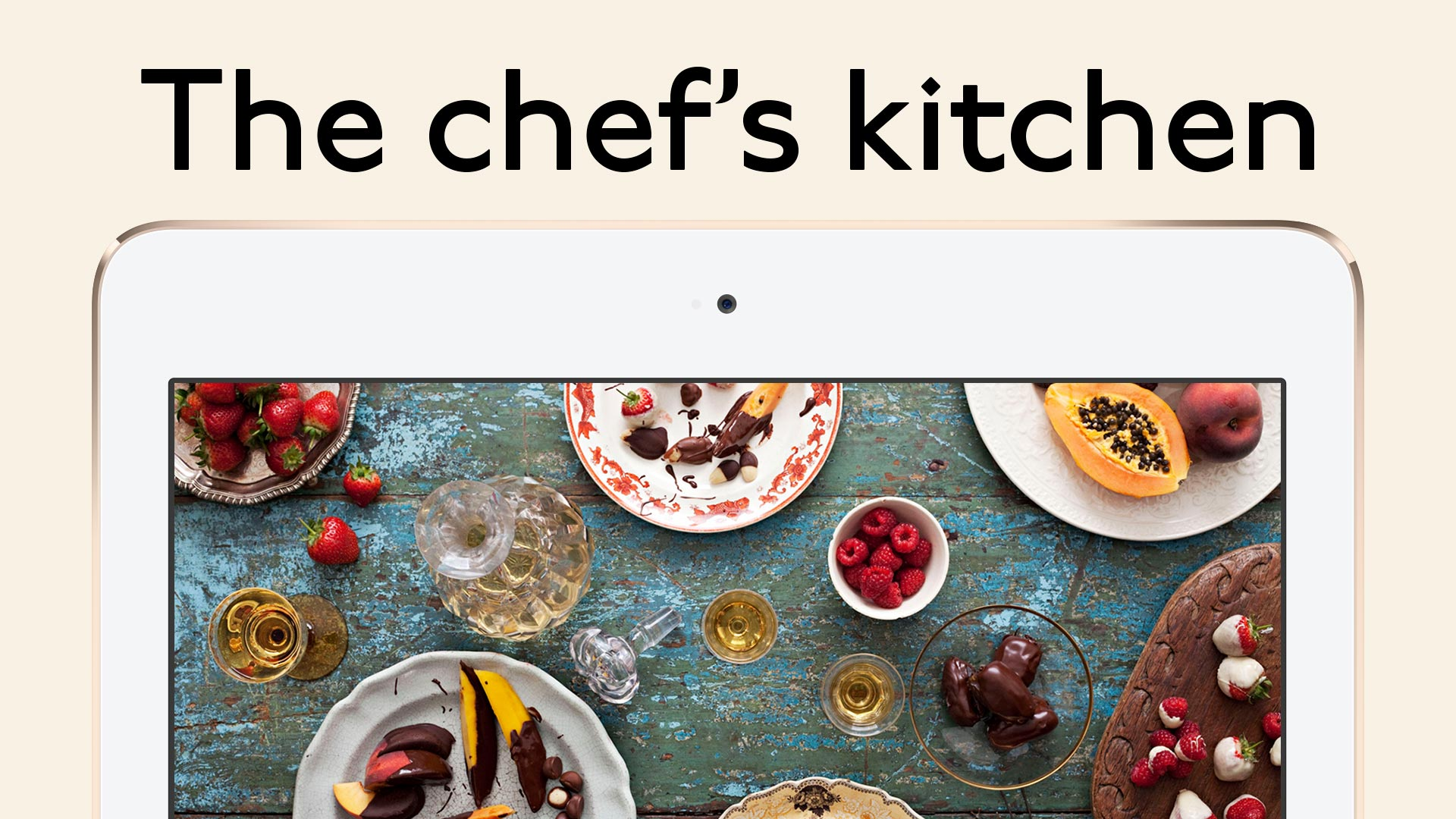Cookbooth: the chef's kitchen