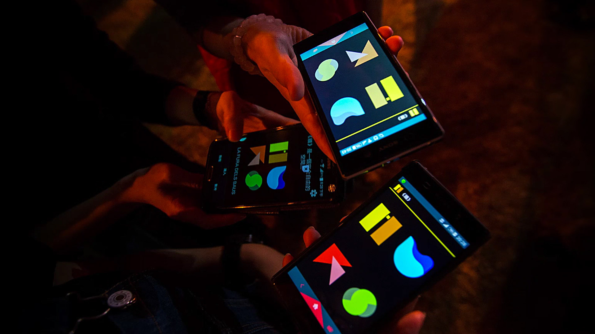 Smartphones with MURS