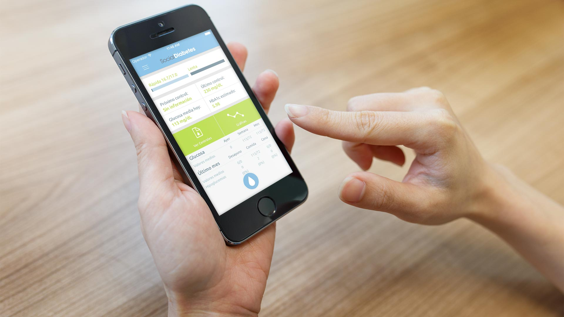 Social Diabetes mobile app