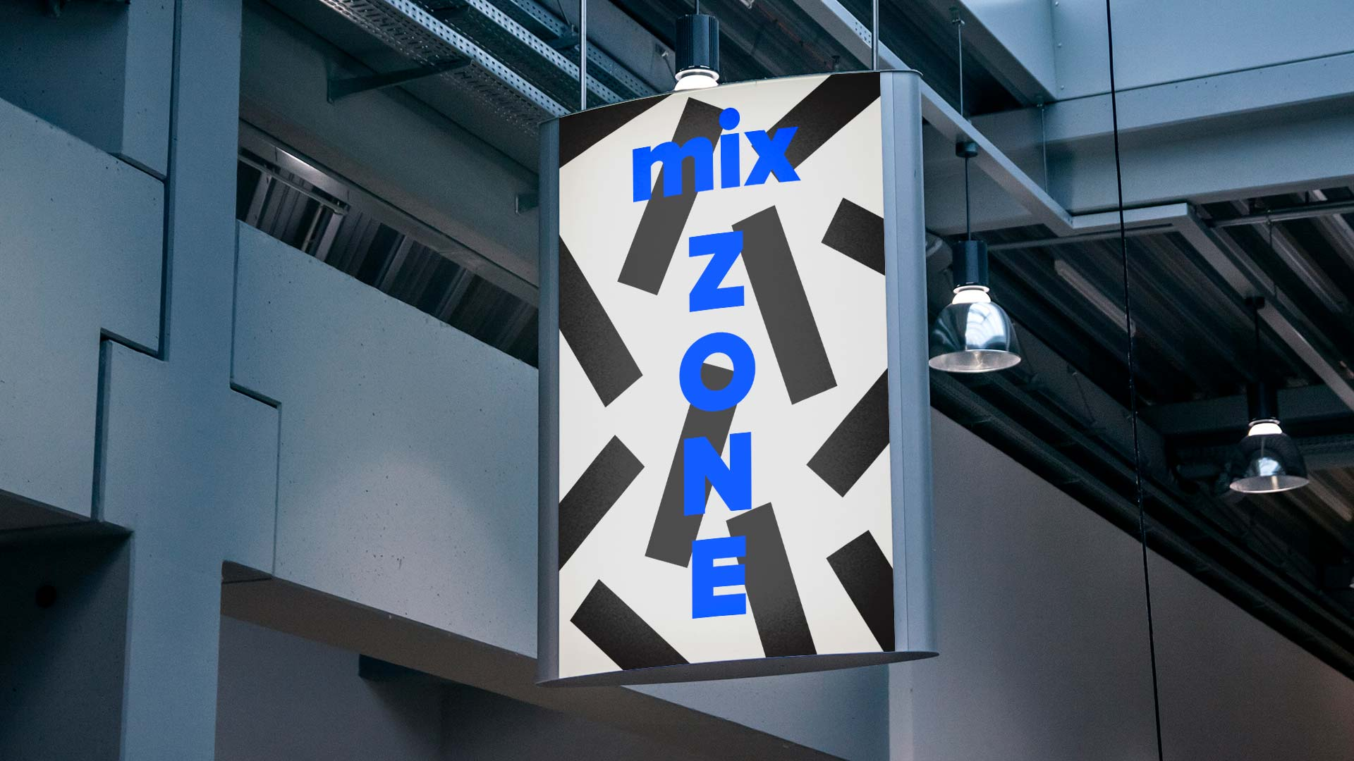 mix zone sign