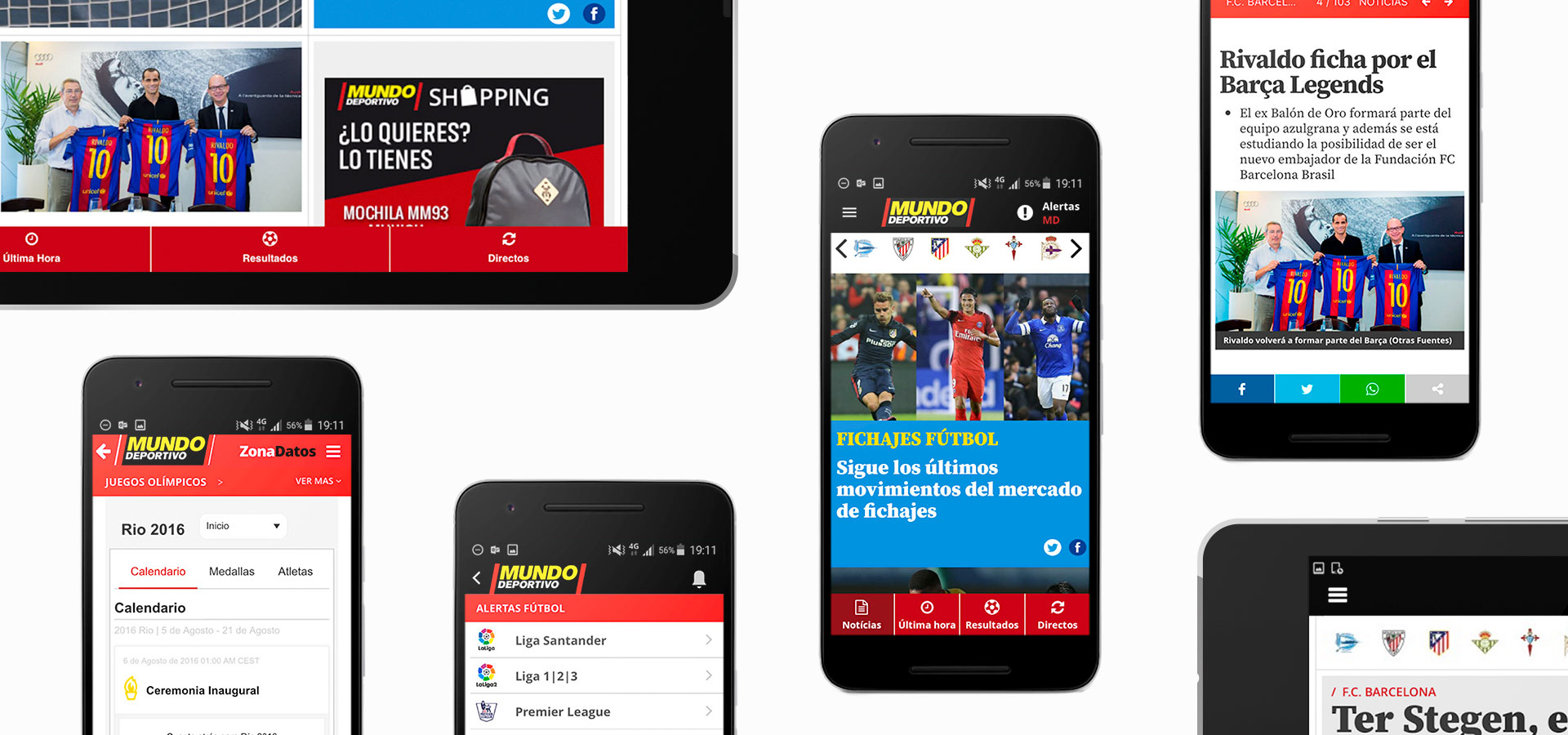 Mundo Deportivo on Android devices