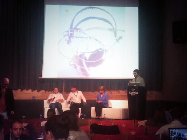 Nacho en el Future Music Forum Barcelona